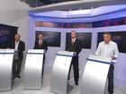 Candidatos a prefeito de Pinda chegam para debate na Vanguarda