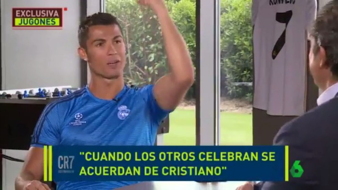 """BLOG: Cristiano Ronaldo responde provocação de Piqué: """"Bem ou mal, que falem de Cris"""""""