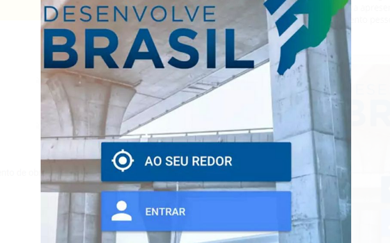 Aplicativo Desenvolve Brasil, lançado pelo Ministério do Planejamento (Foto: Reprodução )