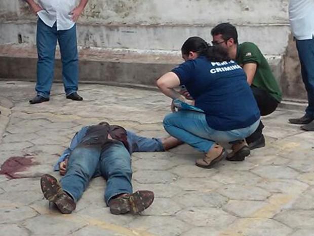 Homem morre baleado em tentativa de roubo de condomínio em São Luís (Foto: Divulgação / SSPMA)