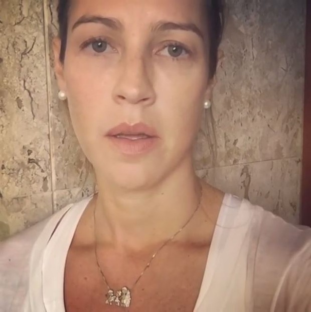 Luana Piovanni manifesta apoio a Luiza Brunet (Foto: Reprodução / Instagram)