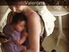 Carol Francischini posta foto abraçada com a filha, Valentina