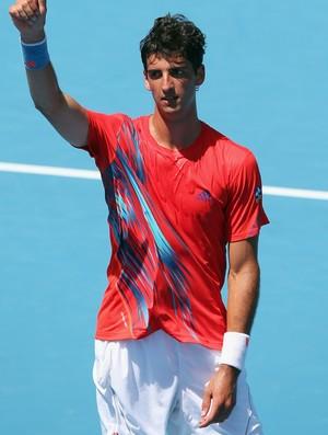 Thomaz Bellucci superou início de jogo ruim e venceu na estreia (Foto: Getty Images)