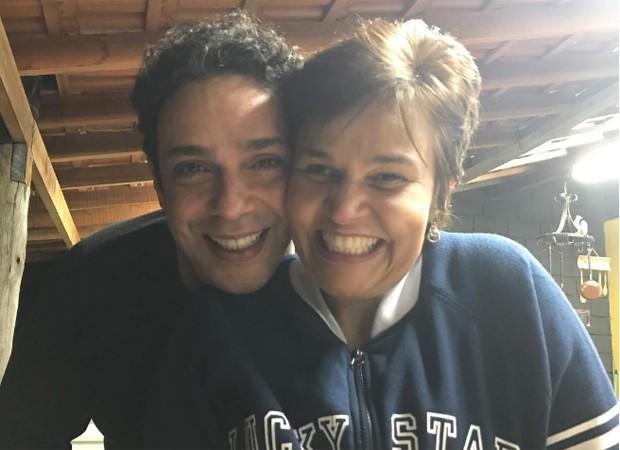 Marcelo Médici e Cláudia Rodrigues (Foto: Reprodução/Instagram)