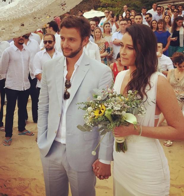 Maria Fernanda Monjardim e Rodrigo Fleury (Foto: Reprodução/Instagram)