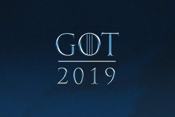 O anúncio feito pela HBO foi seguido por uma imagem com o ano da última temporada (Foto: Divulgação)