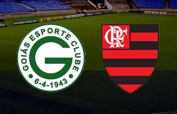 Goiás x Flamengo  (Foto: Arte TV Liberal)