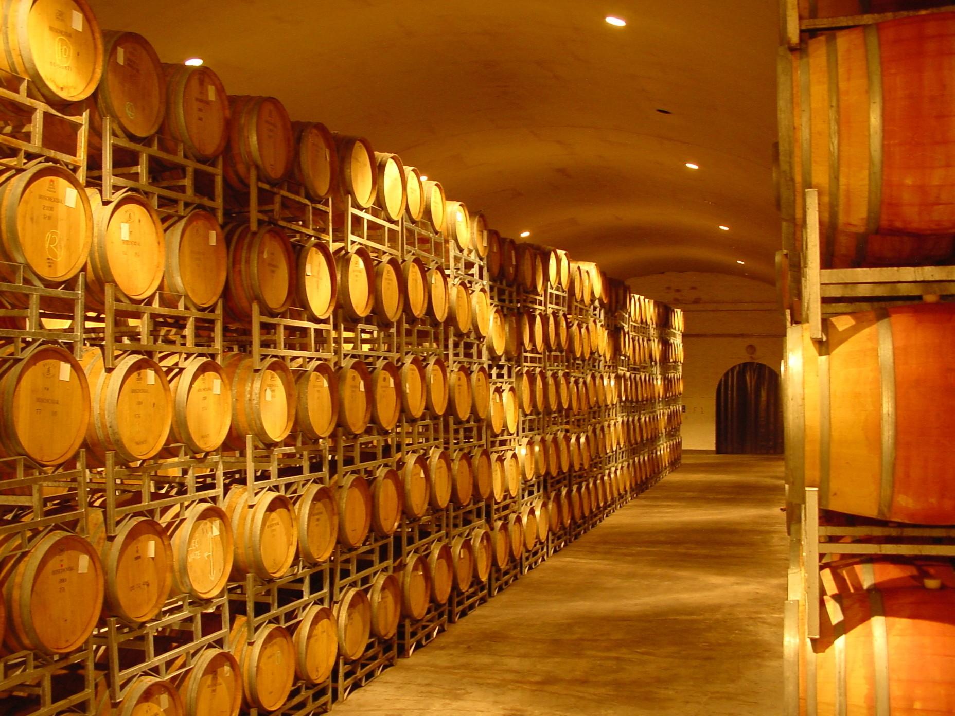 Barris de vinhos na África do Sul (Foto: Divulgação)