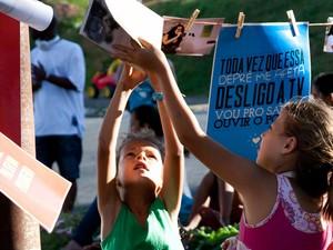 #Esquina realiza sarau em celebração à luta antimanicomial (Foto: Luciana Faria)