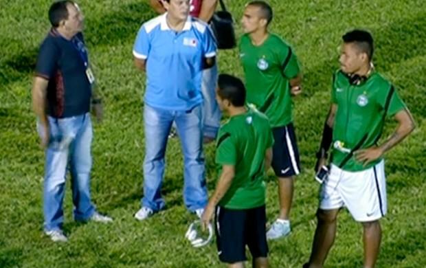 Liminar cancela jogo entre Sousa e Coritiba, pela Copa do Brasil (Foto: Reprodução SporTV)