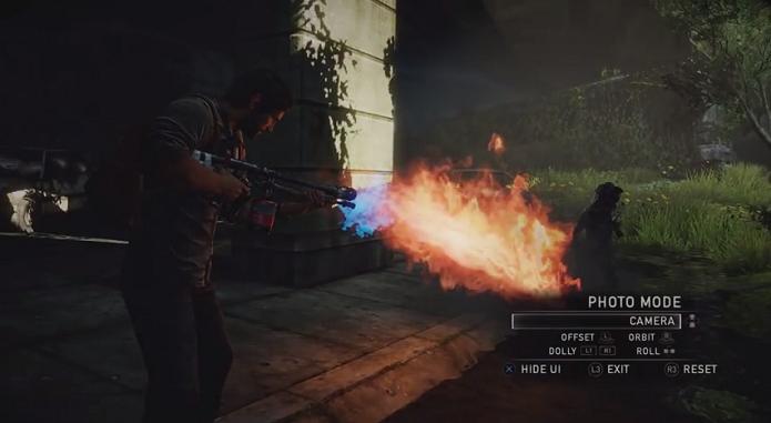 The Last of Us: Remastered trará um modo de fotografia. (Foto: Reprodução/ YouTube)