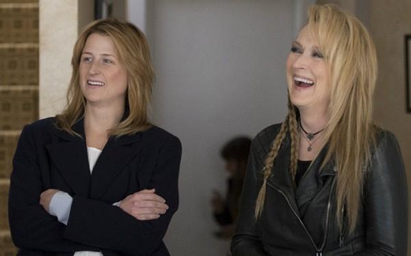 Meryl e Mamie Streep (Foto: Divulgação)