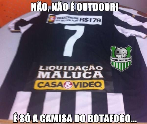 Zoação camisa Botafogo