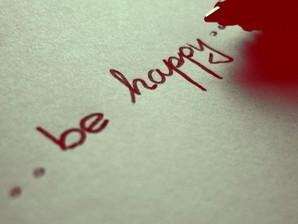 Papel de Parede: Be Happy