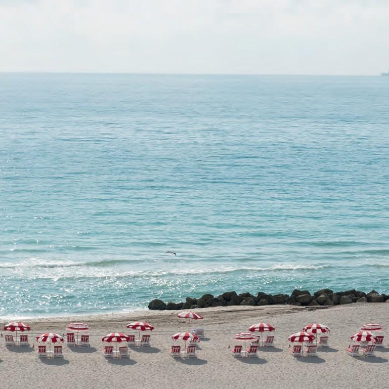 A badalada praia em frente ao hotel Faena, em South Beach (Foto: Tuca Reinés)
