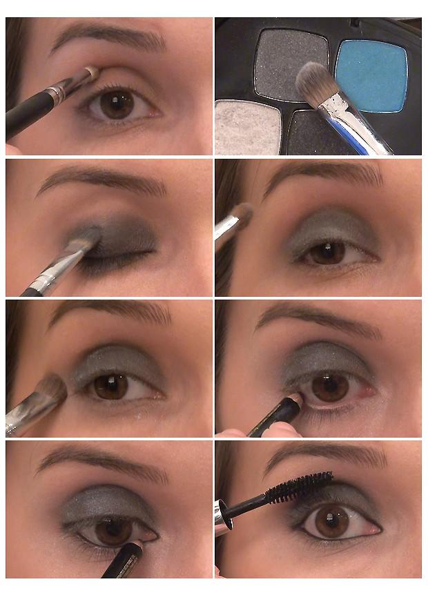 Passo a passo: os olhos de Jessica Alba (Foto: QUEM Inspira)
