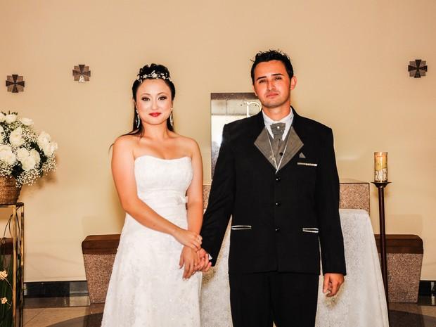 Aumenta número de homens que adotam sobrenome da esposa (Foto: Arquivo Pessoal/Paulo Takigawa)