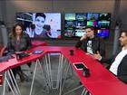 Maria Beltrão conversa com o vlogger Felipe Neto