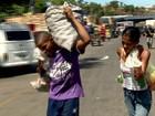 Desempregado arruma trabalho após ser mostrado catando 'lixo' na Ceasa