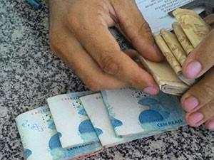 Dinheiro foi apreendido em São Paulo do Potengi, na região Agreste do estado (Foto: Divulgação/PM)