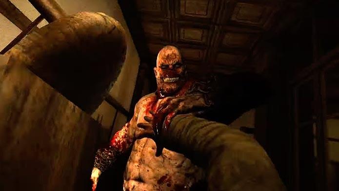 Chris Walker cumprimentando o protagonista pela primeira vez (Foto: Reprodução/Youtube)