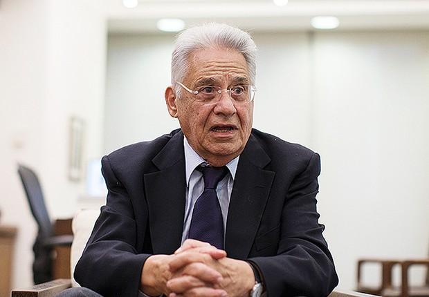 O ex-presidente Fernando Henrique Cardoso (FHC) (Foto: Reprodução/Facebook)