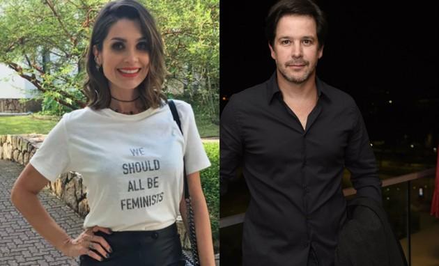 Flávia Alessandra e Murilo Benício são convidados para minissérie (Gshow/TV Globo)