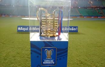 Em tour, Taça da Copa do Nordeste chega a Fortaleza em 5 de março