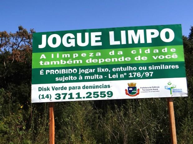 G1 Campanha Contra Descarte Irregular De Lixo é Realizada Em Avaré