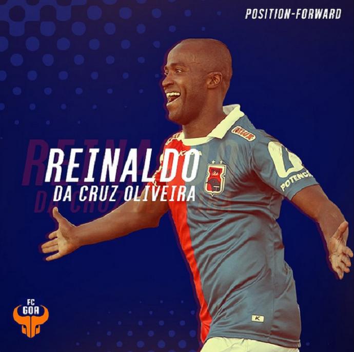 Reinaldo FC Goa (Foto: Reprodução)