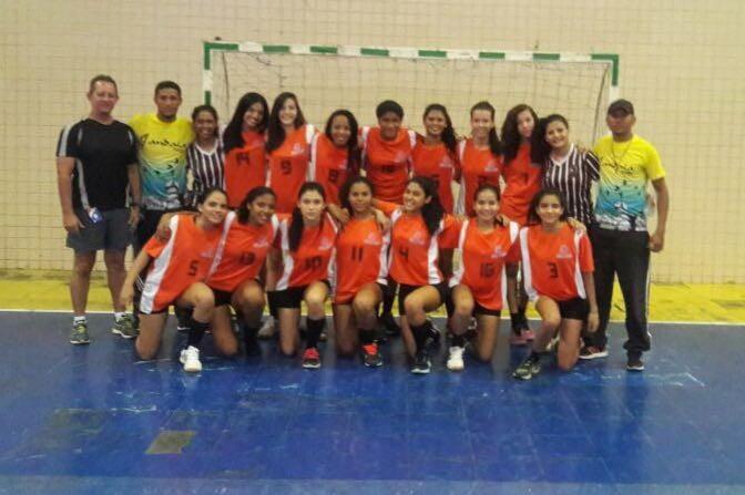 Seleção Piauí Copa Nordeste Handebol cadete (Foto: Arquivo Pessoal)