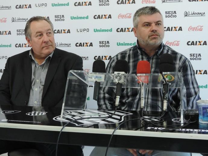 Wilfredo Brillinger e Cleber Giglio (Foto: Diego Madruga)