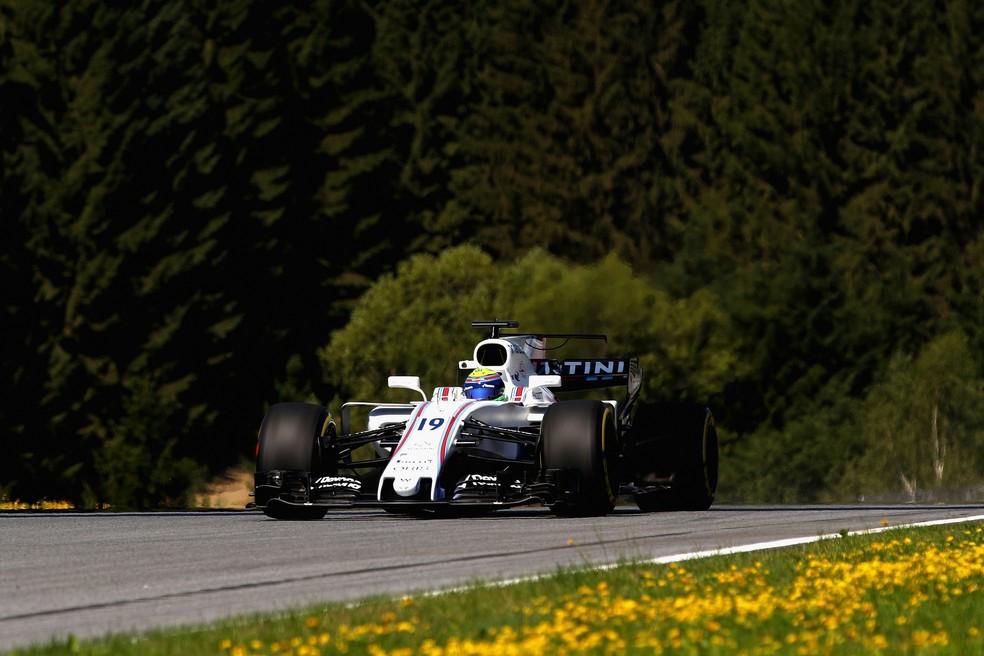 Felipe Massa foi o nono colocado no no GP da Áustria (Foto: Getty Images)