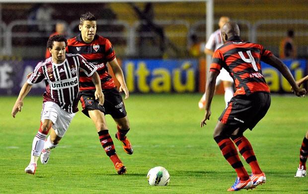 Wellington Nem Fluminense x atletico-go (Foto: Dhavid Normando/Photocamera)