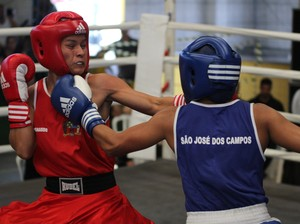 Boxe, Jogos Abertos 2014 (Foto: Edvaldo Filho / Divulgação JAIs)