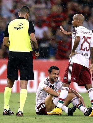 Fred, Flamengo X Fluminense (Foto: Alexandre Cassiano / Agência O globo)