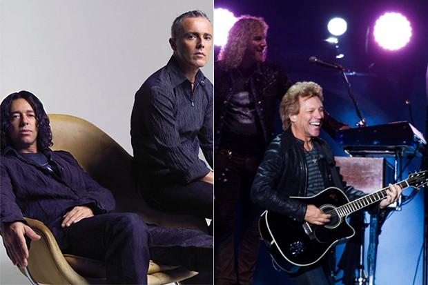 Tears for Fears e Bon Jovi  (Foto: Facebook / Reprodução / Manuela Scarpa /Foto Rio News)