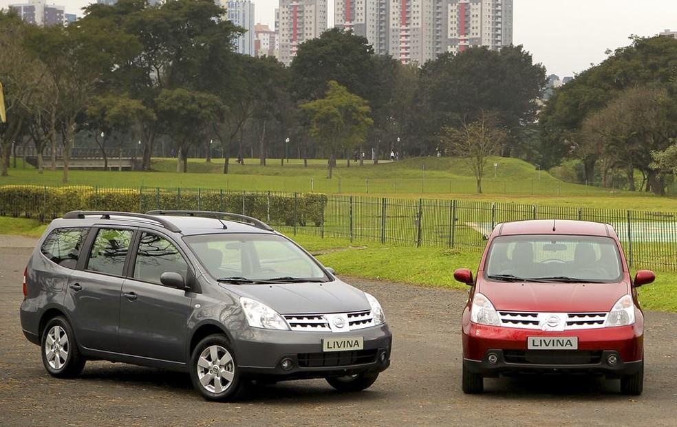 Livina e Grand Livina estão entre os Nissan chamados para recall por 'airbags mortais' (Foto: Divulgação)