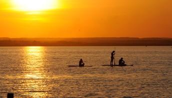 Esporte da moda nas praias e lagoas (Márcio Di Pietro/Investco)