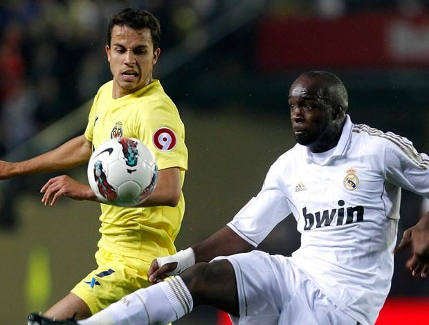 Diarra Real Madrid Nilmar Villareal (Foto: Reuters)