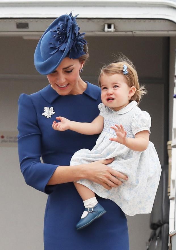 Kate Middleton e Charlotte (Foto: Getty Images)