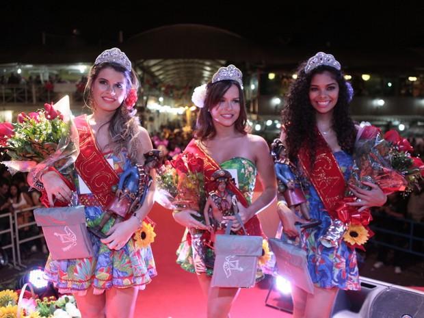As finalistas (Foto: Isac Luz/ EGO)