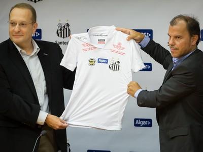 Santos anuncia novo patrocínio e promete
