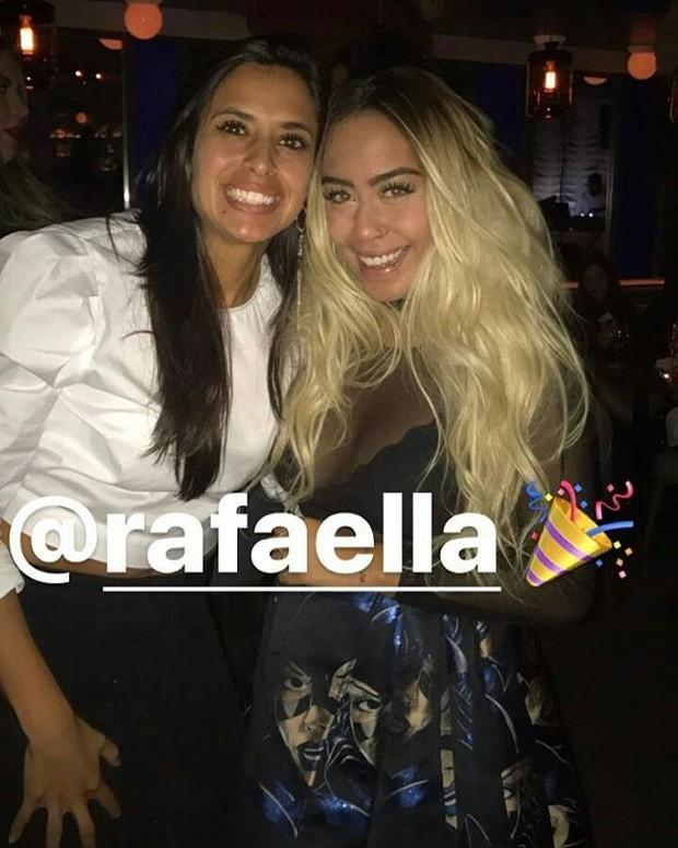 Rafaella Santos na festa de aniversário de Neymar  (Foto: Instagram / Reprodução)