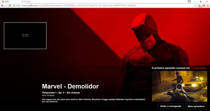 Extensão Flix Assist remove contador e alertas do Netflix (Foto: Reprodução/Barbara Mannara)