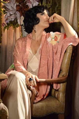 Ivete Sangalo caracterizada como Maria Machadão (Foto: TV Globo / Raphael Dias)