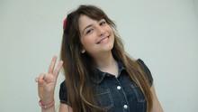 Catarinense Giulia Soncini fala da escolha do Time Victor & Leo (Gshow/Divulgação)