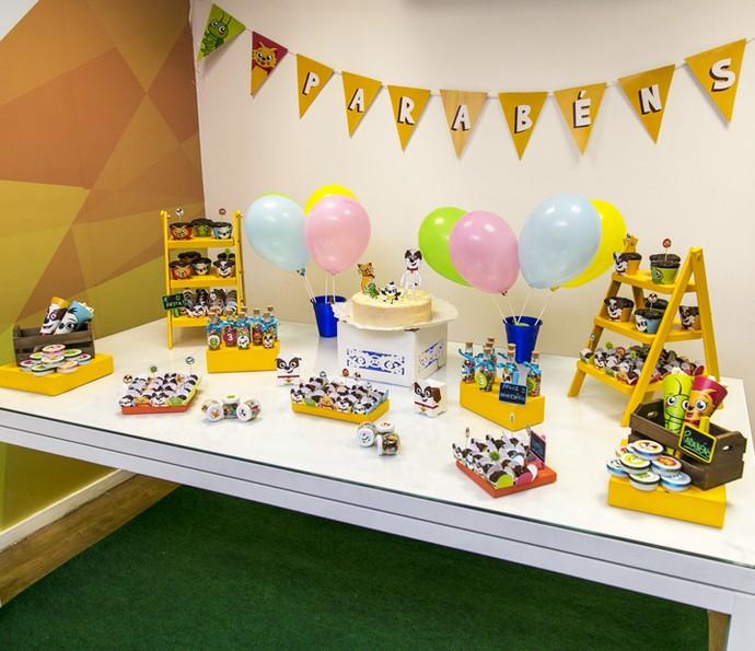 Já pensou em ter uma festa de aniversário decorada com os personagens de 'Tito Cachorrinho e Sua Turma'? (Foto: Isabella Pinheiro/Gshow)