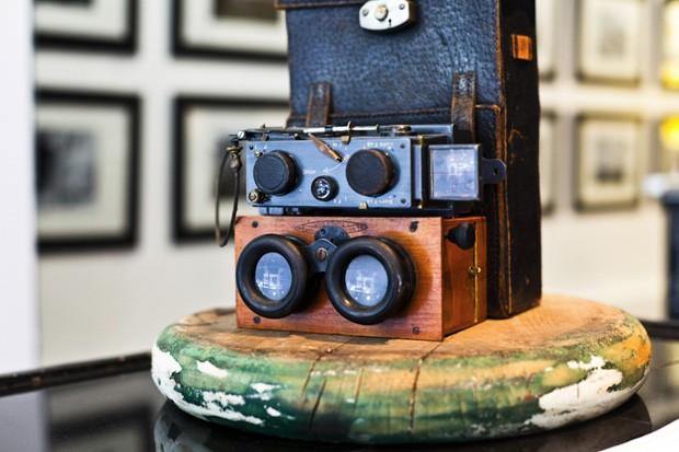 Câmera 'Richard Verascope' que foi comprada por Chris A. Hughes (Foto: Chris A. Hughes)