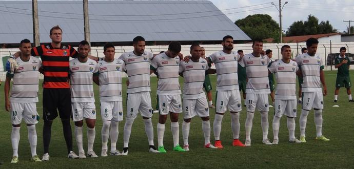 Time do Coruripe (Foto: Leonardo Freire/GloboEsporte.com)